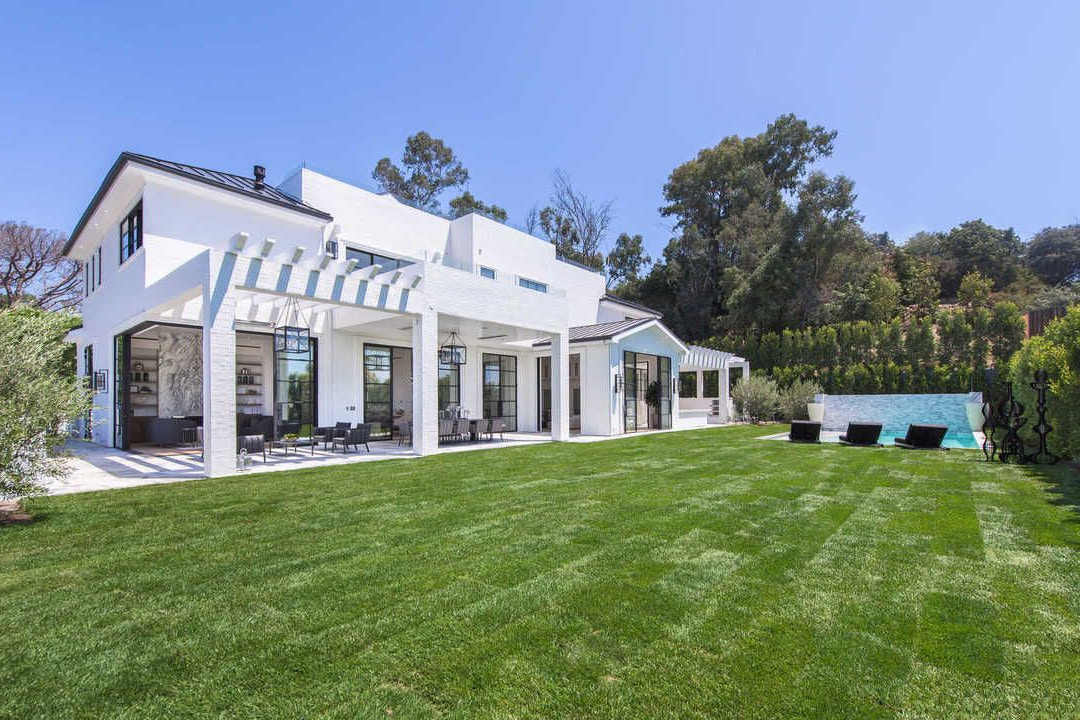 LeBron James Brentwood Mansion Los Angeles