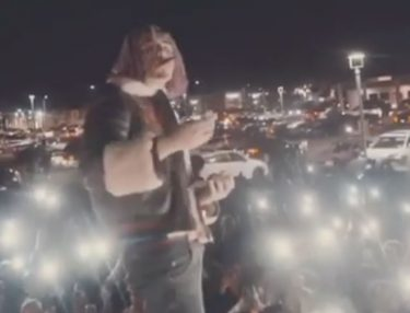 Watch Lil Pump Perform Gucci Gang in a Parking Lot