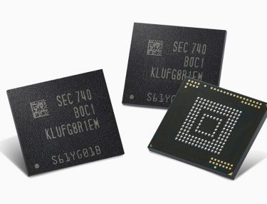 Samsung 512GB embedded Universal Flash Storage