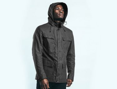 Mission Workshop Eiger WX Wax Canvas Field Jacket