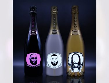 Belaire Limited Rick Ross, DJ Khaled Steve Aoki Bottles