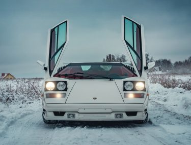 1991 Lamborghini Countach auction