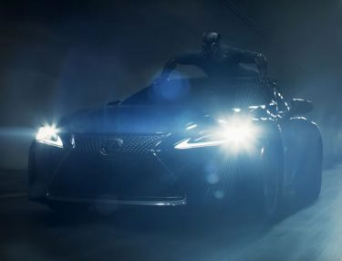 Lexus Extended Super Bowl Black Panther ad