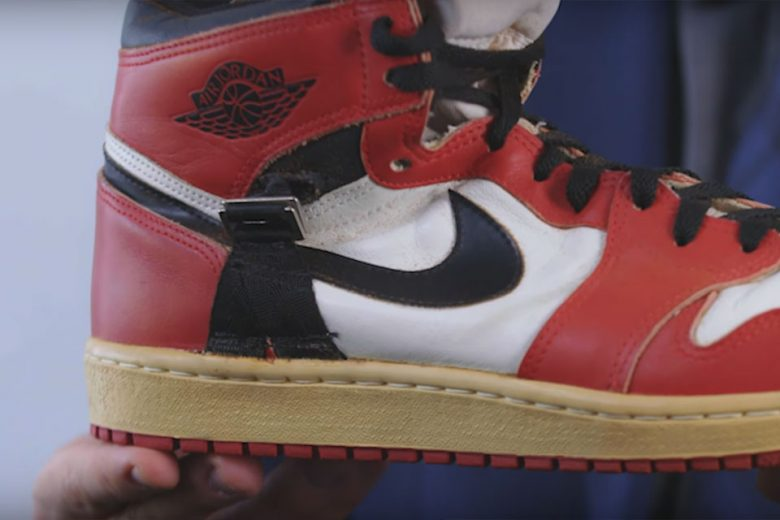 Behind This Rare Air Jordan 1 Made For An Injured Michael Jordan