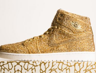 Artist Creates $6,500 Air Jordan 1s With Crystals