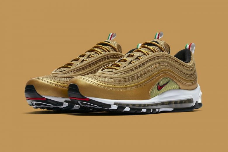 Nike Air Max 97 Quot Italy Quot Gets Quot Metallic Gold Quot Colorway