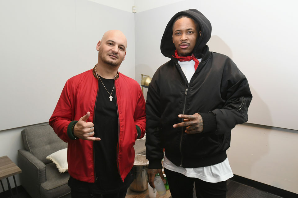 Nicky Diamond and YG at PUMA x Diamond Supply Co. Capsule Launch Party