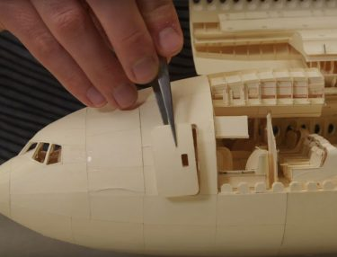 Detailed Boeing 777 Paper Airplane