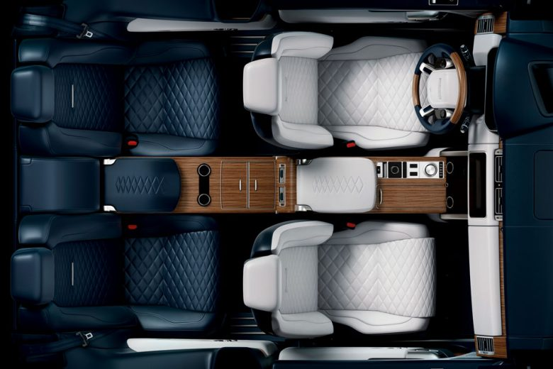 Limited Edition Range Rover SV Coupe