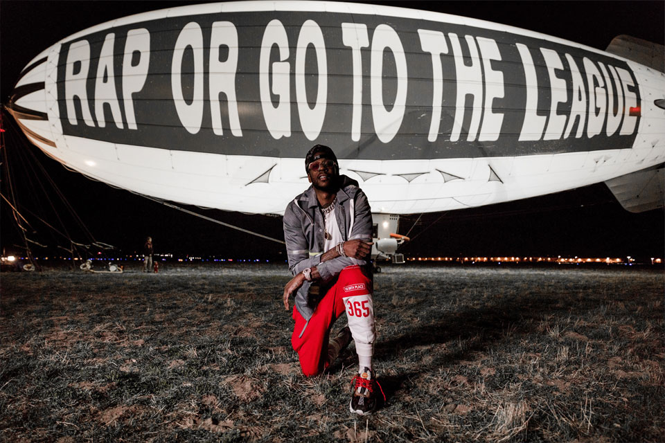 2 Chainz Announces Rap Or Go To The League