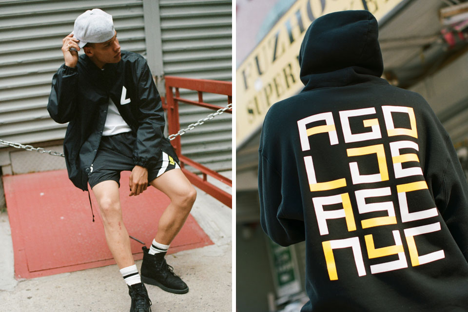 AGOLDE + Associated collection