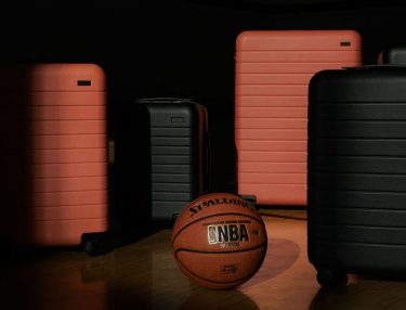 Away x NBA luggage collection
