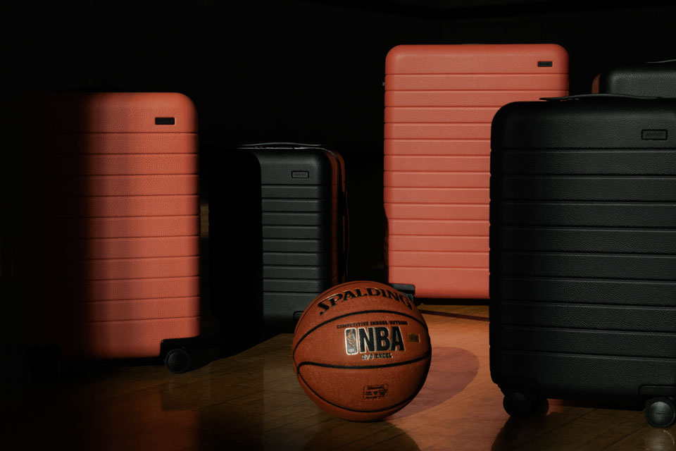 Away Unveils Limited Luggage Collection For Nba All Star