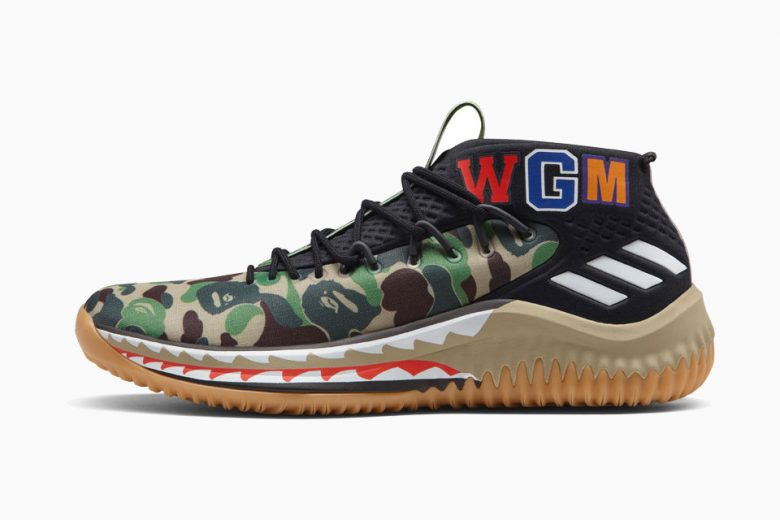 Adidas DAME 4 BAPE Collection