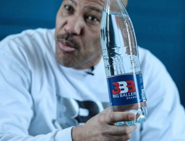 LaVar Ball with Big Baller Brand Water