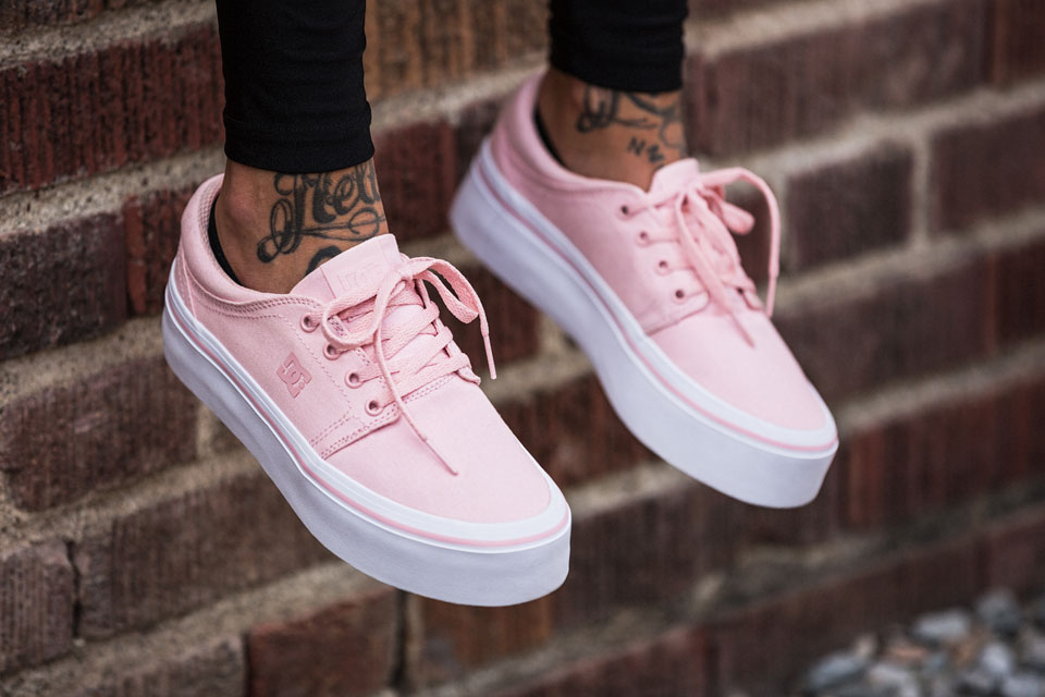 DC Shoes Pink Rose Collection