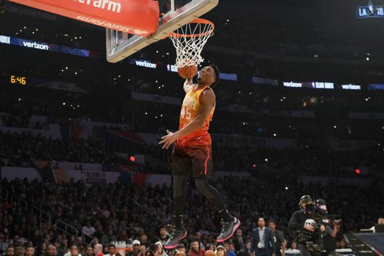 Watch Every Dunk From 2018 Verizon Slam Dunk Contest