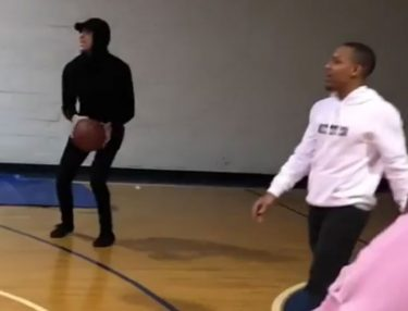 Bow Wow Beats Lonzo Ball in shootout