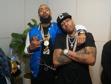 Nipsey Hussle Victory Lap release party