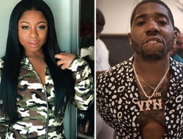 Reginae Carter and YFN Lucci