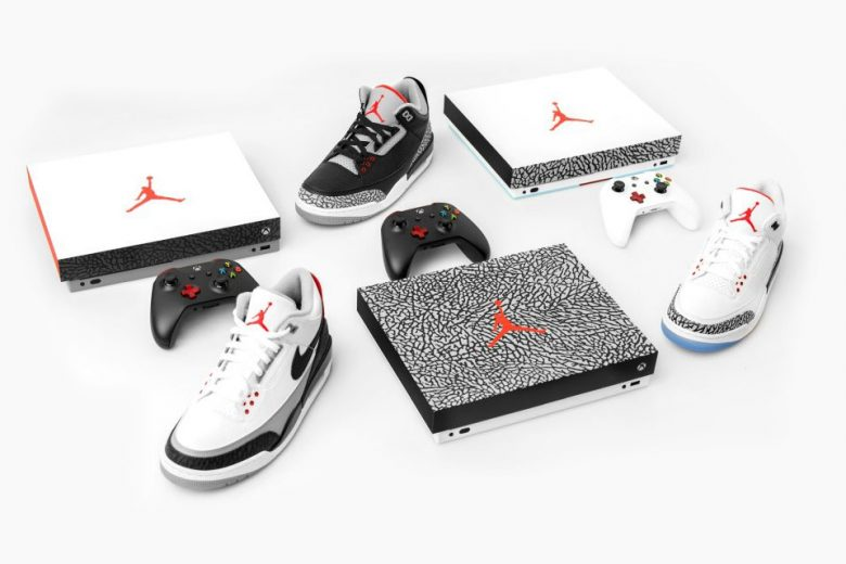 Air Jordan 3 Inspired Xbox One X consoles