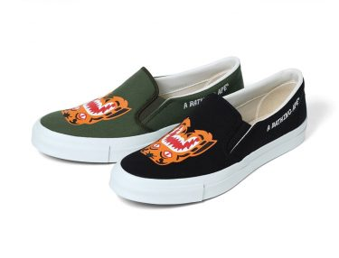 BAPE Tiger Slip On
