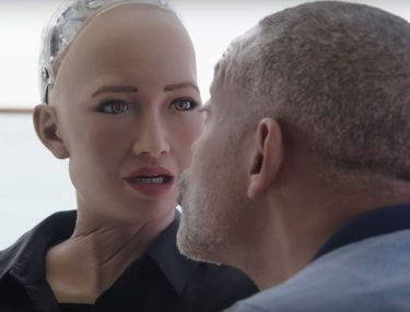 Will Smith Sophia the Robot date