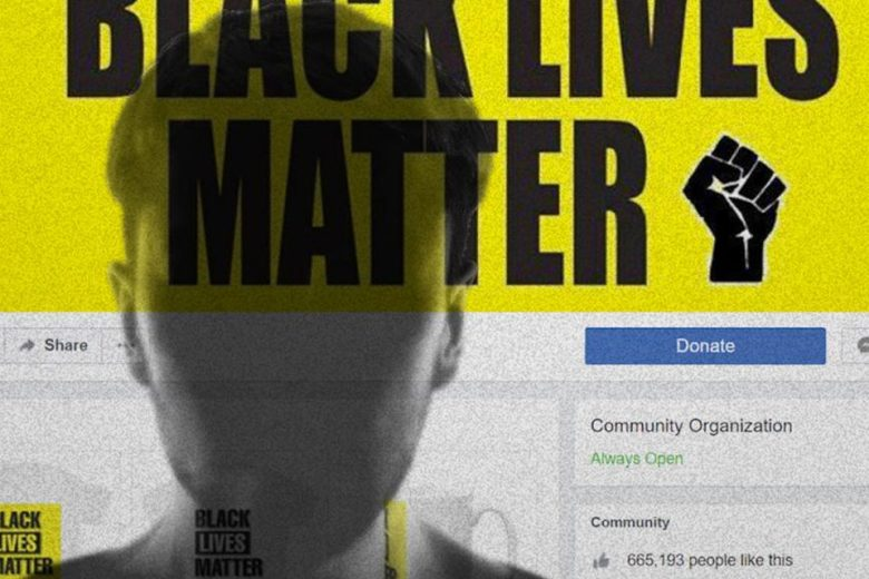 Black Lives Matter Facebook page