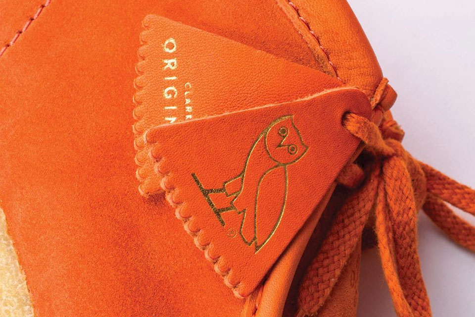 OVO x Clarks Wallabee boot