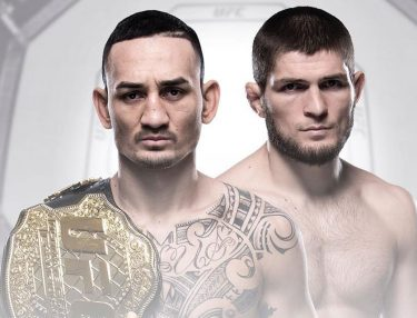 Max Holloway and Khabib Nurmagomedov
