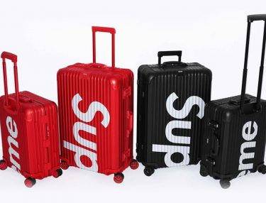 Supreme x Rimowa Luggage Set