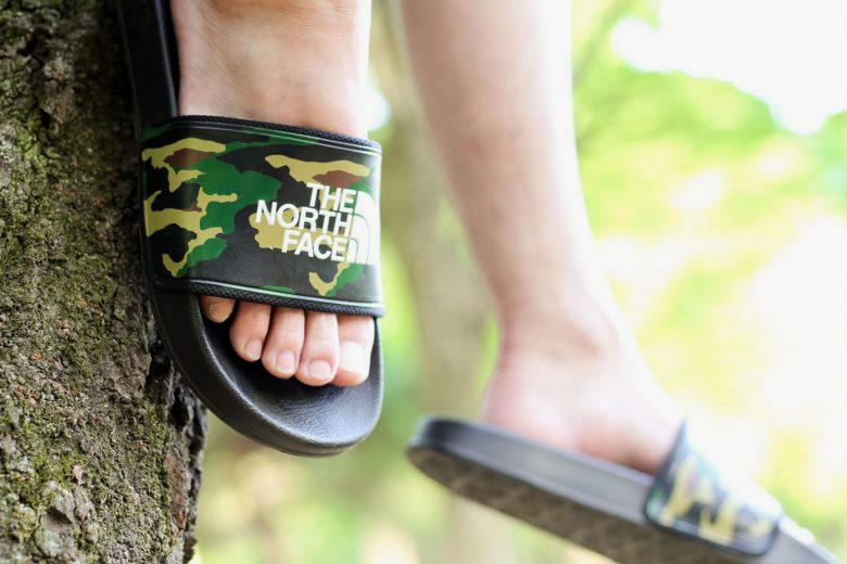 Atmos x The North Face Camo Slides