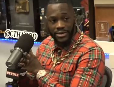 Deontay Wilder on The Breakfast Club