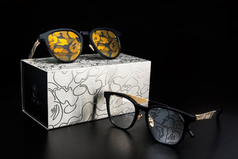 BAPE x ic! Berlin Camo Eyewear Sunglasses
