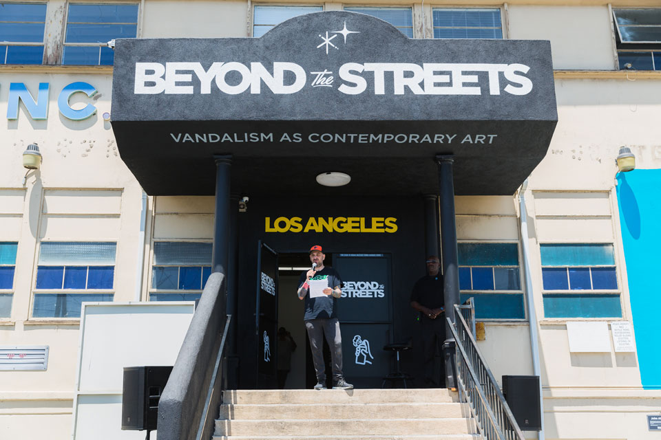 BEYOND THE STREETS Art Exhibition Los Angeles