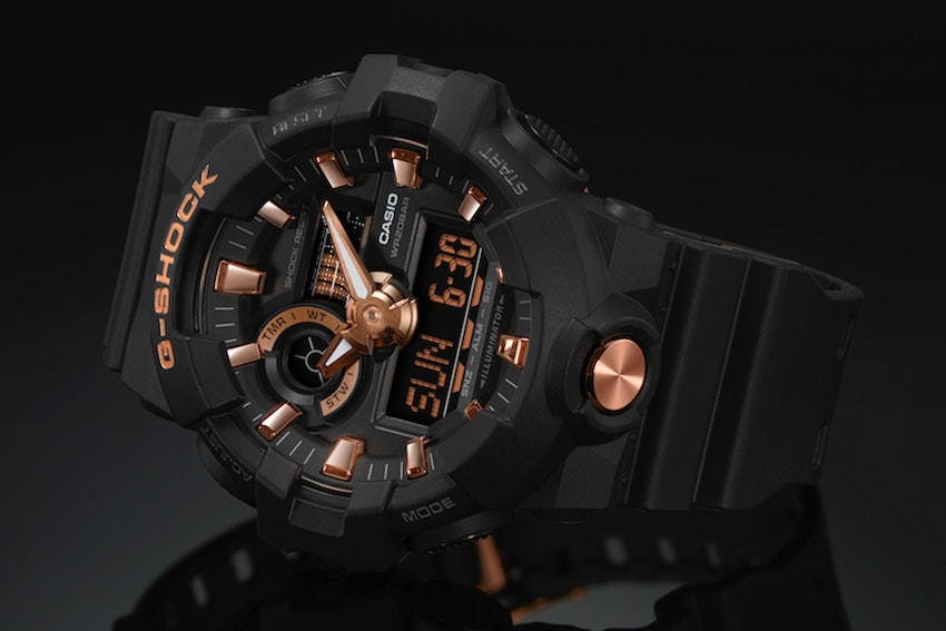 G-SHOCK Gold Accent Collection