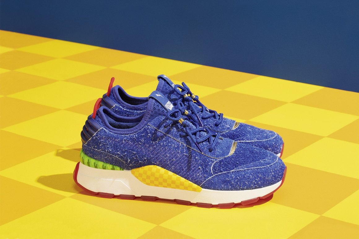SEGA x PUMA RS-0 Sonic The Hedgehog