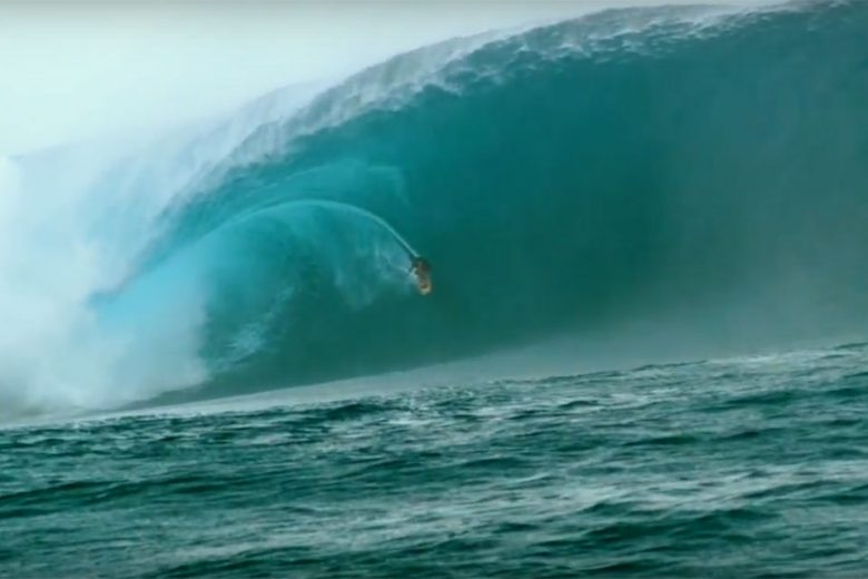 Surfer Makua Rothman Catches Epic Wave in Fiji, Wipes Out Hard!