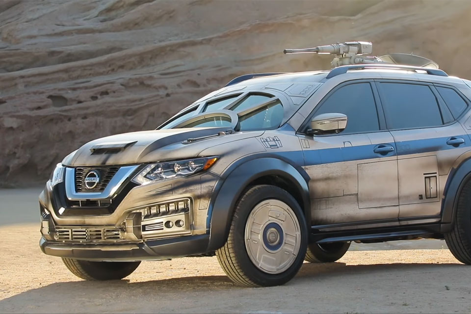 Nissan Unveils Star Wars-Themed Rogue SUV at Solo World Premiere