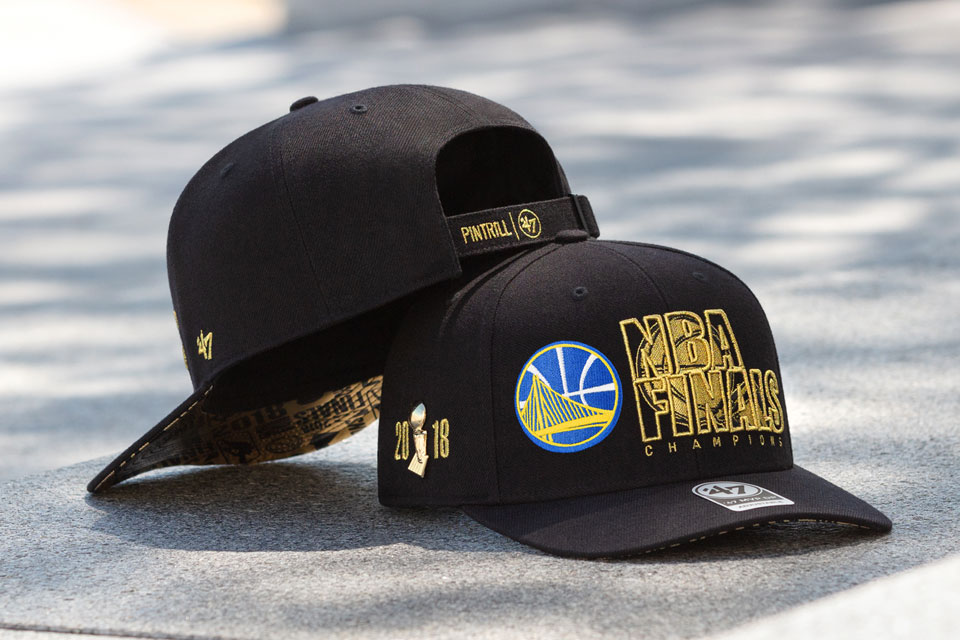 Pintrill x '47 2018 NBA Championship Cap Collection