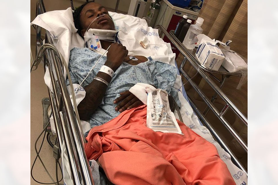Rich The Kid hospitalized