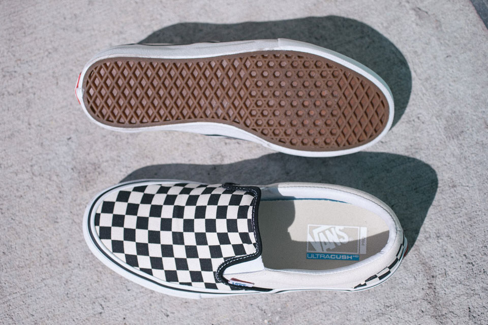 Vans' Checkerboard Slip-On Scotty Cranmer