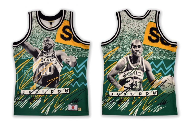 Mitchell & Ness x Just Don NBA Jam Capsule