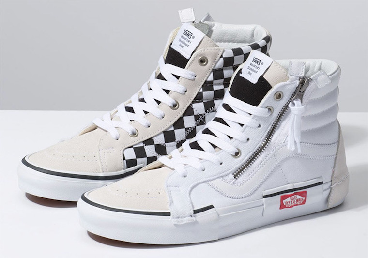 Vans-Sk8-Hi-Reissue-Deconstructed-White-Black