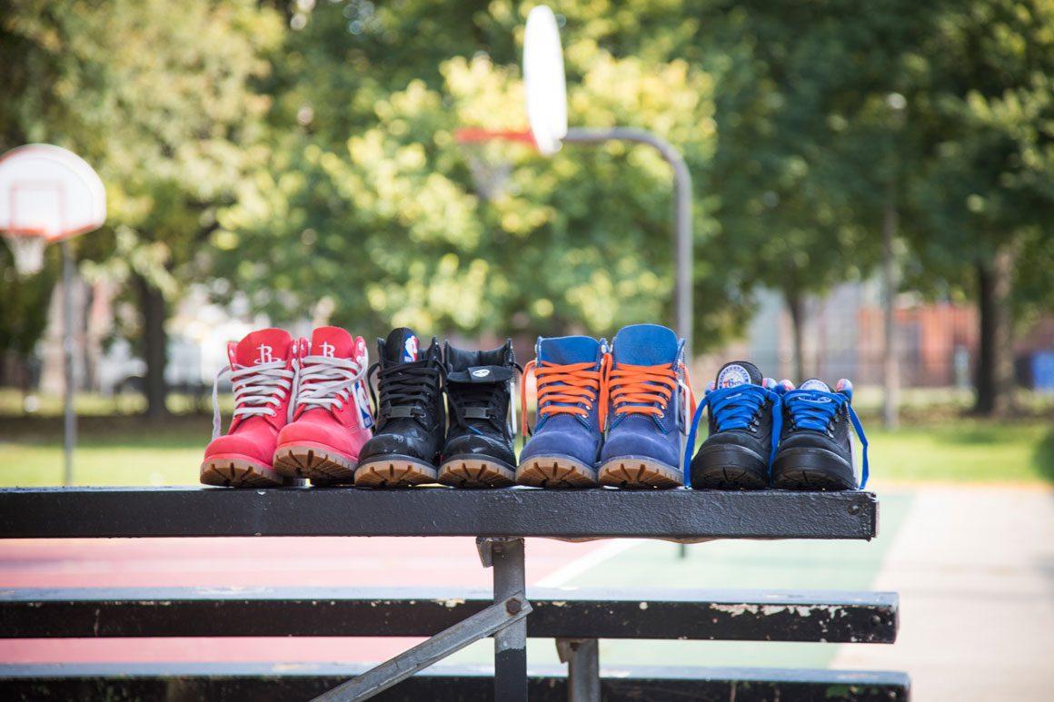 Timberland x NBA collection