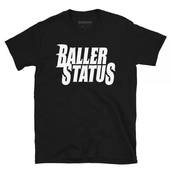 Stacked Logo T-Shirt (Black)