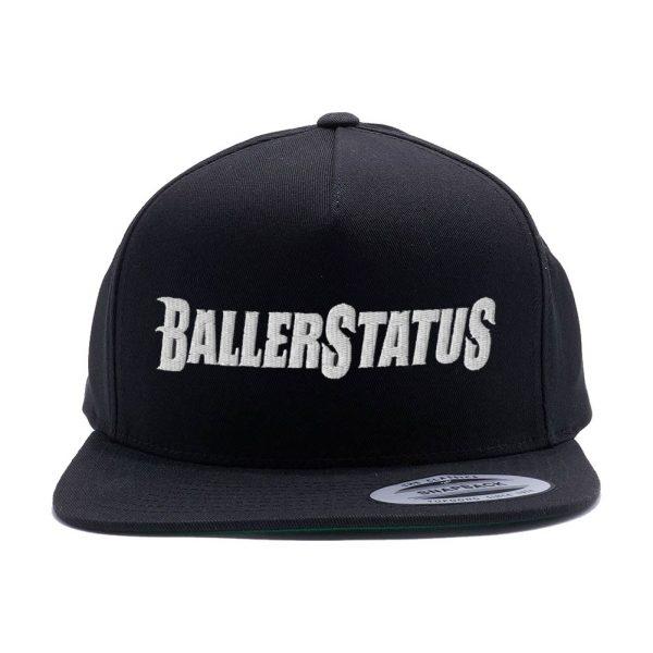 Logo Snapback Hat (Black)