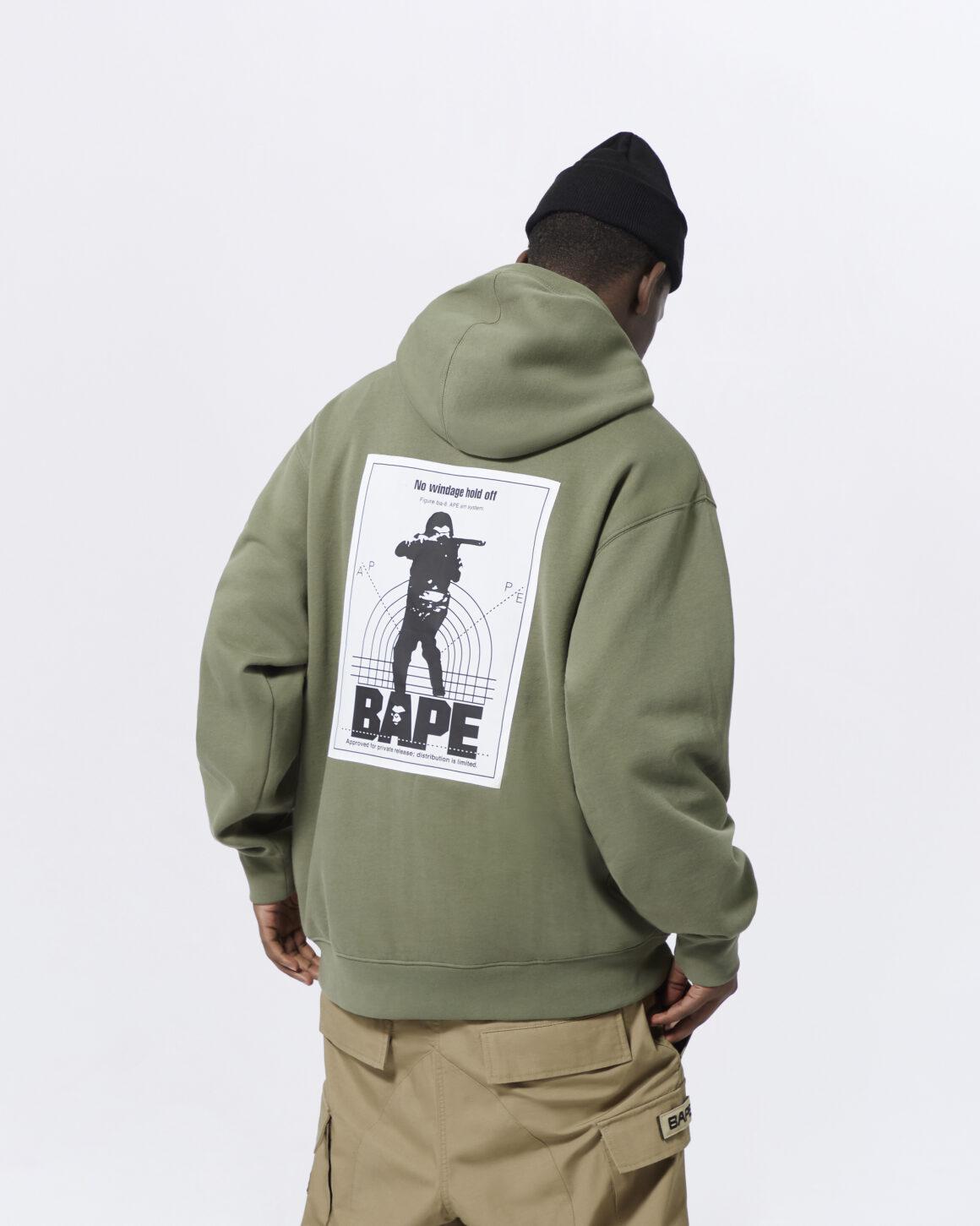 Alpha Industries x BAPE