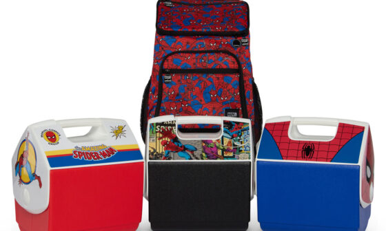 Igloo Coolers x Spider-Man
