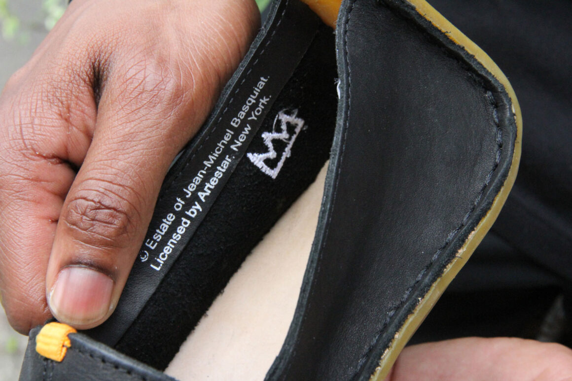Vivobarefoot x Basquiat collection